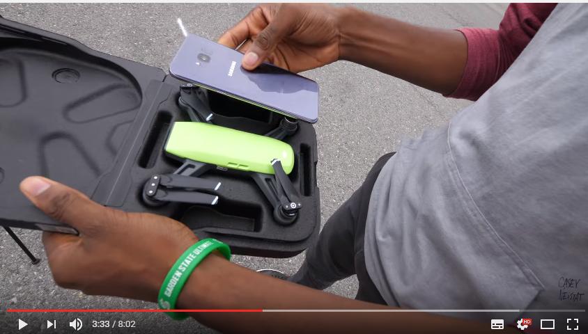 DJI Spark - mini dron