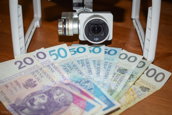 Ile zarabia operator drona