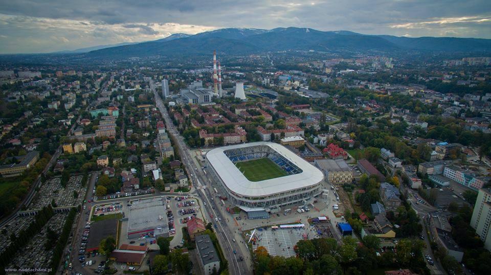 Stadion Miejski w Bielsku-Białej podczas Otwarcia