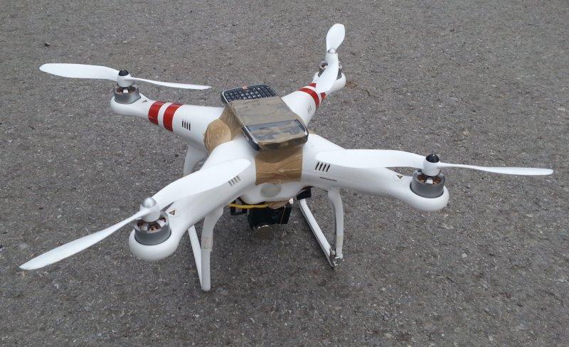 Zabawne sytuacje z dronem
