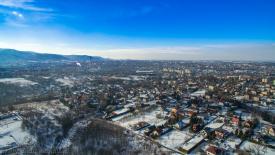 Panorama Bielska-Białej zimą