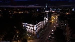 Ratusz Bielsko-Biała nocą