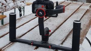 Studio filmowe z dronem