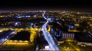 Tychy - Browar Zdjęcie z drona Naddachami