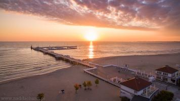 Zachód Słońca Sopot