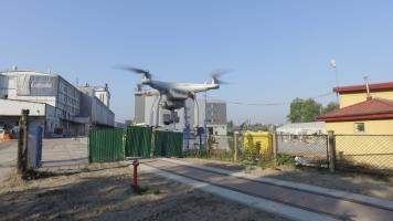 inspekcja budowy dronem