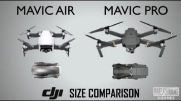 Mavic Air vs. Mavic Pro