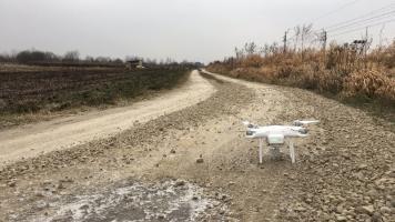 teren inwestycyjny Dębica - dron - naddachami