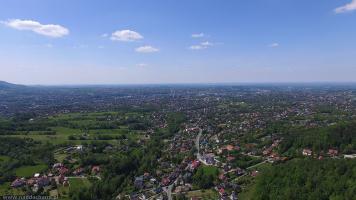 Bielsko Zdjęcia z powietrza