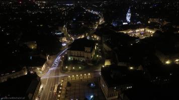 Zdjęcia z Bielska w nocy