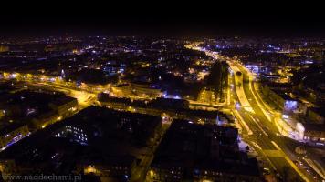 Zdjęcia w nocy Lublina