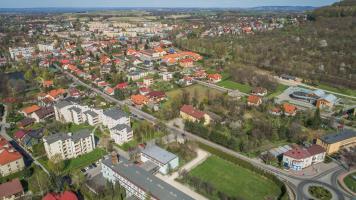 Dron w Andrychowie