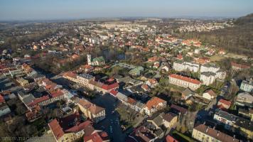Dron Andrychów Panorama