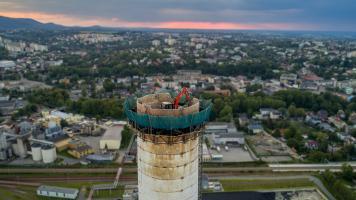 Rozbiórka kominów Bielsko-Biała