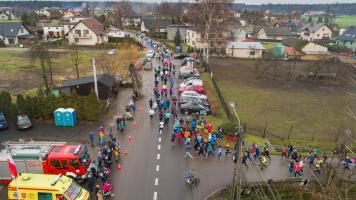 II Bieg Śladem Żubra Studzienice 2018