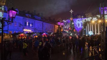 Jarmark Świąteczny 2016 w Bielsku-Białej