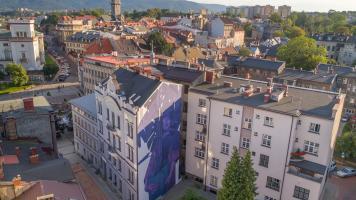 Mural Bielsko-Biała A. Mickiewicza