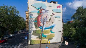 Frasunek Mural Bielsko-Biała Cieszyńska