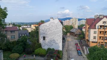Koronki Bielsko-Biała Mural