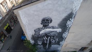 Mural Pasterz w Bielsku-Białej
