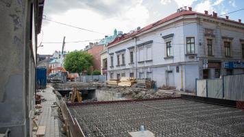 Remont ulicy Stojałowskiego w Bielsku