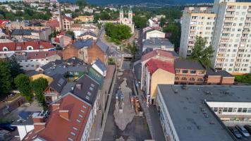 Budowa ronda przy ul. Stojałowskiego