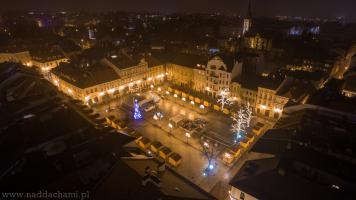 Zdjęcia z powietrza Rynek Bielsko