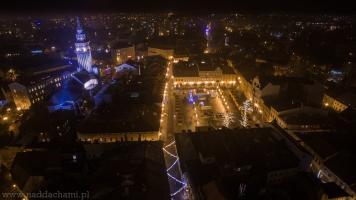 Zdjęcia z drona Rynek Bielsko