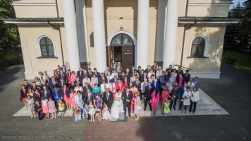 Ślub i wesele z drona Bielsko-Biała