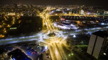 Tychy drony zdjęcia z powietrza