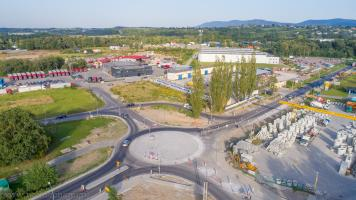 Rozbudowa ulicy Międzyrzeckiej w Wapienicy