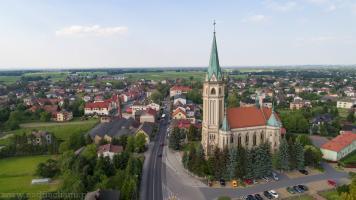 Parafia pw. Trójcy Przenajświętszej w Wilamowicach