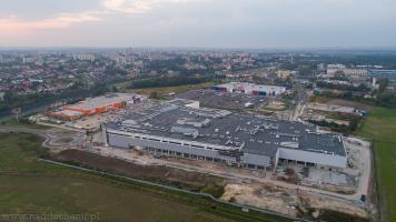 Budowa Gemini Park w Tychach
