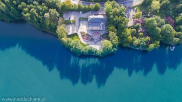 Jezioro Międzybrodzie z lotu ptaka